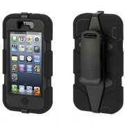 Чехол Survivor Black/Black для iPhone 5/5S от Griffin (GB35677)