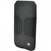Чехол BMW Leather Sleeve Case Kidney Shape Black для iPhone 5 от CG Mobile (BMPOP5LK)