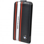 Чехол BMW Motorsport Collection Flap Leather Case Navy Blue для iPhone 5 от CG Mobile (BMFLP5SN)