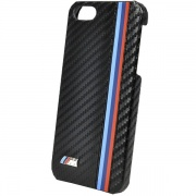 Чехол BMW M-Collection Leather Hard Case Carbon Effect Black для iPhone 5 от CG Mobile (BMHCP5MC)
