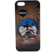 Чехол Kuso Cartoon Print Hard Case Doraemon для iPhone 5