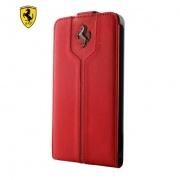 Чехол Ferrari Montecarlo Collection Red Flip Type Case для iPhone 5 от CG Mobile (FEMTFLP5RE)