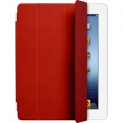 Чехол Smart Cover Red (Leather) для iPad 2/The New iPad/iPad 4 от Apple (MD304LL/A)