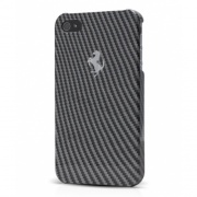 Чехол Ferrari Hard Case Full Carbon Collection для iPhone 5 от CG Mobile( FEFCHCP5BL)