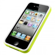 Чехол Neo Hybrid 2S Snow Series Lime для iPhone 4/4S от SGP (SGP08356)