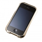 Чехол Aluminum Bumper Limited Edition (Luxury Gold) для iPhone 4/4S от Dracodesign (DR40A2-GD)