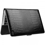 Чехол Folio Croco Black для MacBook Air 13