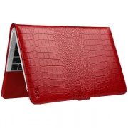 Чехол Folio Croco Red для MacBook Air 11