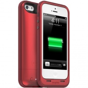 Чехол Juice Pack Plus Charging Case Red 2100 mAh для iPhone 5 от Mophie