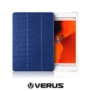 ����� Crocodile Leatherette Case Dark Blue ��� iPad Air �� Verus