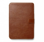 ����� Lettering Diary Case Brown ��� iPad mini �� Zenus