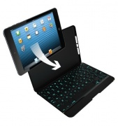 Клавиатура ZAGGkeys Folio Backlit Keyboard Case для iPad Air (Black)