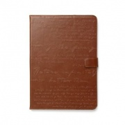 Чехол Lettering Diary Case Brown для iPad Air от Zenus