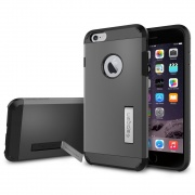 Чехол Case Tough Armor Gunmetal для iPhone 6 Plus от SGP (SGP11053)