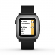 Умные часы Pebble Time Smartwatch Black