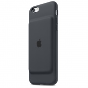 Защитный чехол Apple Smart Battery Case Charcoal Gray для iPhone 6S (MGQL2)