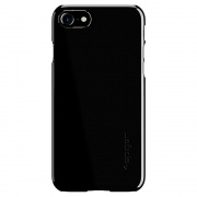 Чехол Spigen Case Thin Fit Jet Black для iPhone 7