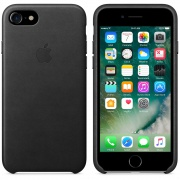 Чехол Leather Case Black для iPhone 7 Plus/8 Plus от Apple (MQHM2)