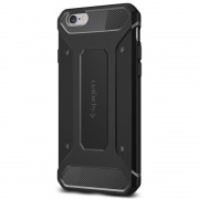 Чехол iPhone 6S/6 Case Rugged Capsule Black от Spigen (SGP11597)