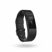 Спортивный браслет Fitbit Charge 2 Heart Rate, Limited Edition, Gunmetal (L)