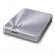 Жесткий диск WD My Passport Ultra Metal Silver 2 Tb (WDBEZW0020BSL)