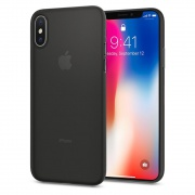 Чехол Spigen iPhone X Case Air Skin Black (057CS22114)