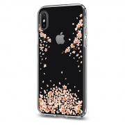Чехол Spigen iPhone X Case Liquid Crystal Blossom (Crystal Clear) (057CS22121)