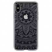 Чехол Spigen iPhone X Case Liquid Crystal Shine (057CS22120)