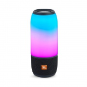 Портативная колонка JBL Pulse 3 Wireless Waterproof Speaker Black (PULSE3BLKAM)