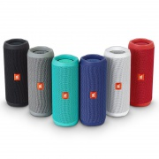 Портативная колонка JBL Flip 4 Waterproof Speaker Black (JBLFLIP4BLKAM)