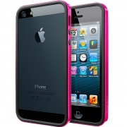 Чехол Case Neo Hybrid EX Slim Vivid Series Hot Pink для iPhone 5 от SGP (SGP10027)