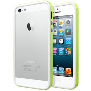 Чехол Case Neo Hybrid EX Slim Snow Series Lime для iPhone 5 от SGP (SGP10029)