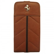 Чехол Ferrari California Collection Flip Type Camel для iPhone 4/4S от CG Mobile (FECFFL4KA)