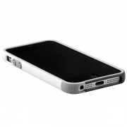 Чехол Walnutt Bumper Trio Case White/Dark Grey для iPhone 5 от Zenus