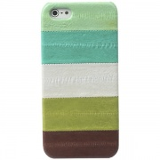 Чехол Leather Case Prestige Eel Bar Series Green для iPhone 5 от Zenus