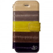 Чехол Prestige Natural Eel Diary Case Multi Brown для iPhone 5 от Zenus