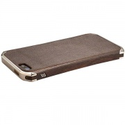 Чехол-бампер Ronin First Edition Nickel/Ziricote Wood для iPhone 5 от Element Case (API5-1110-N6BS)