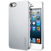 Чехол Case Ultra Thin Air Series Satin Silver для iPhone 5 от SGP (SGP09538)