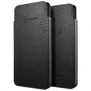 Чехол Leather Pouch Crumena S Series Black для iPhone 5 от SGP (SGP09515)