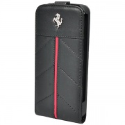 Чехол Ferrari Flip California Black для iPhone 5 от CG Mobile (FECFFL5B)