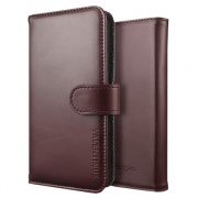 Чехол Diary Type Case Valentinus Brown Red для iPhone 5 от SGP (SGP09547)