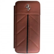 Чехол Ferrari California Collection Book Type Camel для iPhone 5 от CG Mobile (FECFFLBKP5KA)