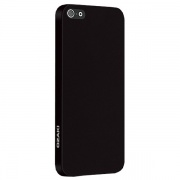 Чехол O!coat 0.3 Solid Black для iPhone 5 от Ozaki (OC530BK)