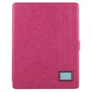 Чехол Masstige Leather Color Point Folio Series Pink для iPad 2/The New iPad/iPad 4 от Zenus