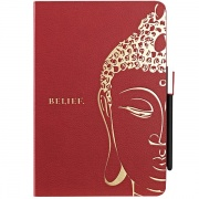 Чехол O!coat Wisdom Buddhist Scripture Red для iPad mini от Ozaki (OC103SR)