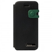 Чехол Masstige Color Edge Diary Case Real Black для iPhone 5 от Zenus