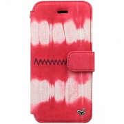Чехол Prestige Tie-Dyeing Diary Case Red Mix для iPhone 5 от Zenus