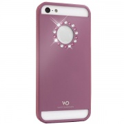 Чехол Materialized Metal Flower Pink для iPhone 5 от White Diamonds (1210MMFLW41)