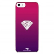 Чехол Rainbow Pink для iPhone 5/5S от White Diamonds (1210RAI41)