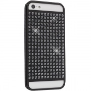 Чехол Materialized Metal The Rock Black для iPhone 5 от White Diamonds (1210MMRCK6)